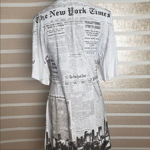Dresses & Skirts - New York City Print Dress!
